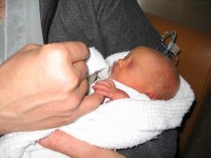 10 minutes old, 5 weeks premature